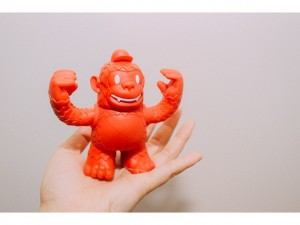 Project 365 Vol.7 No.337 15/06/15 Yay! Reddie Freddie arrived 🐵 #reddiefreddie #freddie #replyall #mailchimp #collaboration #vinyltoy #collectthemall #toycollection #365 #project365 #photoaday