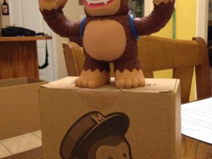 """Got my surprise gift from @MailChimp today! Thanks for the awesome vinyl Freddie!"""