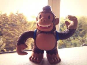 """Nice surprise goodie from @MailChimp (who by now must know I love toys) – A vinyl Freddie by Super7"""