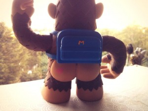 """And check out @MailChimp Super7 vinyl Freddie's rear view!"""