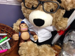 """@MailChimp Freddie found a new best friend on my desk!"""