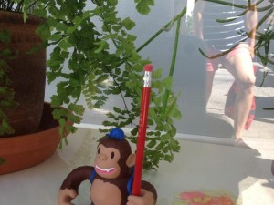 """Found Freddie and some fake vomit today. @mailchimp @fuzzco"""