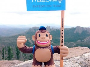 """@mailchimp Freddie at the summit of Harney Peak, the highest summit east of the Rockies. / August 2013 #explore"""