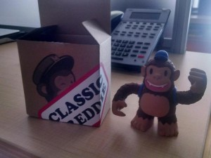 """Thanks @MailChimp Freddie is a great addition to the team!"""