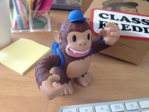 """Just got my @MailChimp Freddie! <3"""