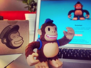"""Signed up for a Mailchimp Newsletter, received Random Awesomeness in the form of  a Mailchimp Freddie! Thx @MailChimp"""