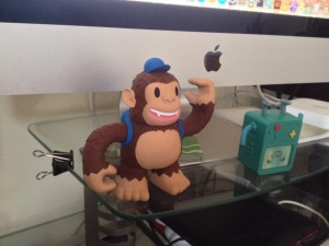 """Won a cool MailChimp Freddie toy! Thanks much @MailChimp"""