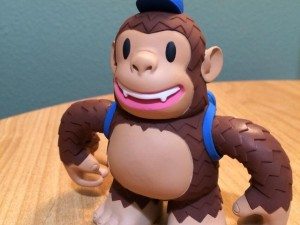 """Got a Classic Freddie from @mailchimp today. He's so cute! #100daysofhappy"""
