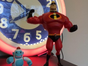 """""""Yeti Freddie from @MailChimp and Mr. Incredible getting along famously."""""""