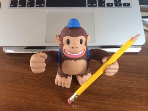 """Wuzzaaa! #Freddie is at the office! We will take good care @MailChimp"""