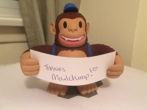 """Yay! Classic Freddie was waiting in the mailbox for me when I got home today! @MailChimp"""