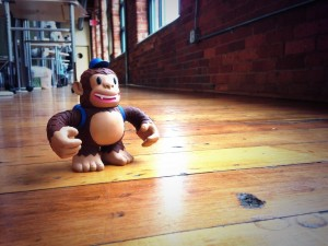 """Legit monkey business ftw! RT @nathanspainhour: Awesome! Thanks @MailChimp for the bada$$ Freddie toy!"""