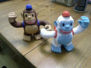 """Thanks @MailChimp and @ashleykdwilson for our Yeti Freddie! Now original Freddie has a friend."""