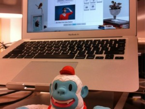"""Just received my Yeti Freddie in the mail. Thanks @mailchimp! #sendbetteremail"""