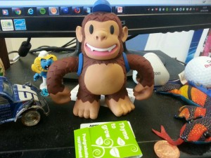 """Freddie's here! Thank you @MailChimp!"""