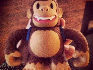 """Freddie made it here safely for my birthday! Thanks @MailChimp he's pretty darn cute."""