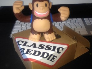 """@MailChimp Thanks for our freddie toy! I did have to stand in the post office que for 45 mins but it was worth it!"""