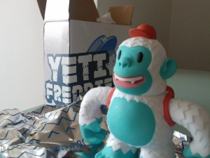 """@MailChimp The great Yeti Freddie has arrived. Thank you for the awesome gift."""