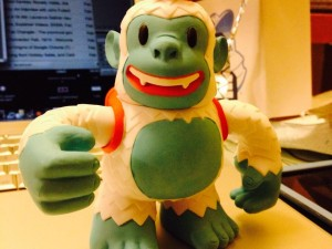 """If I recommend you use @mailchimp for your newsletters, now you know why. They send me toys. Meet Freddie :)"""