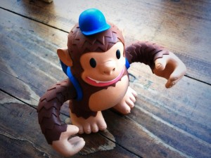 """Woohoo vinyl Freddie arrived from @MailChimp He takes care of all the ODOU mail!"""