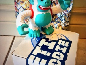 """Thx to @MailChimp for the Yeti Freddie swag!! I'm a winner!"""