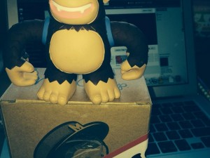 """Thank you @MailChimp for Freddie – now helping out jn the Chelmsford office"""