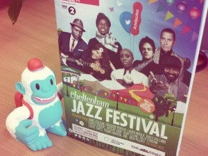 """""""Dear @MailChimp, our Yeti Freddie has made it all the way to the UK @cheltfestivals safe and sound"""""""