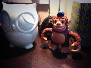 """My vinyl Freddie arrived & is now keeping my desk owl company. Thanks, @MailChimp!"""