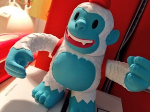"""Thanks @MailChimp for the Yeti Freddie! (I hope this seasonal trend will continue…)"""