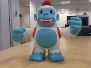 """Just received my vinyl Freddie from @MailChimp. Thanks guys, love it!"""