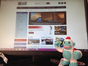 """""""My new desk mascot: RT @RGBArchie '@MailChimp have made our Friday a bit more entertaining with a fab Yeti Freddie!'"""""""
