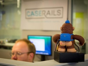 """@MailChimp Thanks for the newest @CaseRails employee.  We promise to take good care of Freddie."""