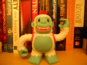 """""""Look at what I got in the mail last week. Isn't he cute? #MailChimp #Freddie"""""""