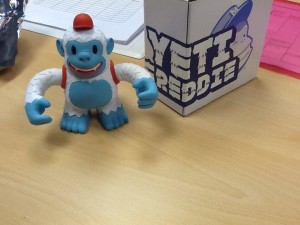 """How sweet is Yeti Freddie?! Thanks @mailchimp !"""