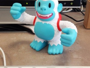"""My Freddie is here! Thank you @MailChimp Congrats @aarron and @benchestnut reminding that #ux is more than grey boxes"""
