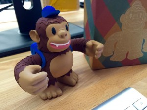 """Our very own @MailChimp Freddie just arrived in the mail today at @TandemCapital!"""