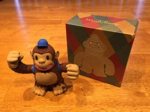 """Thank you to @MailChimp and @replyall for my awesome Freddie that arrived in the mail yesterday!"""