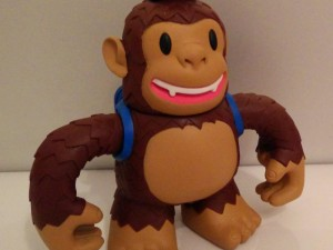 """Hi @MailChimp, thanks for your vinyl freddie that arrived today. You guys are awesome!"""