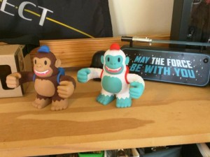 """@MailChimp @replyall Classic Freddie and Yeti Freddie hanging out like Jedi do. May the Fourth Be With You!"""