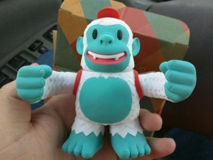 """""""Freddie the Yeti from @MailChimp.(Thanks @ReplyAll)"""""""