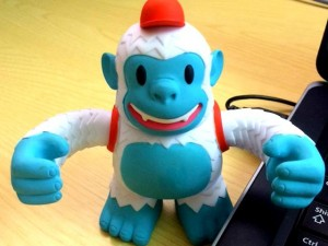 """""""Happy Friday! Here's our office mascot, Freddie from @MailChimp. #Stoneacre"""""""