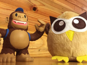 """Freddie (of @MailChimp fame) and Owly are best friends! Make sure they work together too: http://t.co/PWlkv5lkU7"""