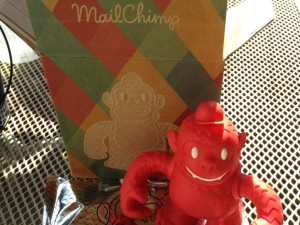 """Thanks @masgharneya for the @MailChimp Freddie!"""