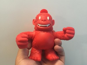 """""""RED FREDDIE IS HERE!!!! THANKS @replyall and @mailchimp! #MailKimp #Pepperoni"""""""
