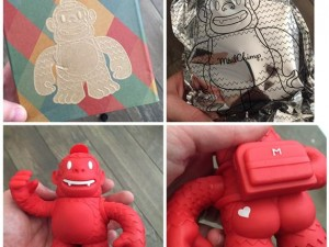 """""""Thanks @replyall and @mailchimp! Just got my Reddie Freddie in the mail"""""""