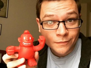"""I knew listening to @replyall would pay off! Now I'm a proud parent of a @mailchimp Freddie. #podcasts"""