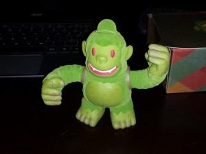 """""""The Swampy Freddie arrived! Thanks @replyall and @mailchimp! This little guy is awesome!"""""""