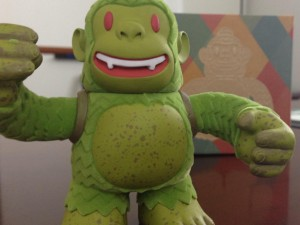 """Look who showed up at work today! @MailChimp's very own Swampy Freddie!"""