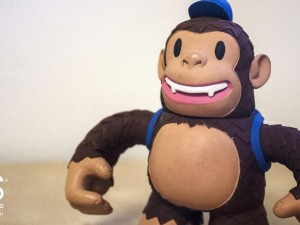 """We recently got a new helper at the office – meet Freddie Chimp, our MailChimp newsletter delivery monkey!"""