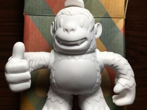My Thumbs Up Freddie just arrived from Mail Chimp & Reply All. He's so silky smooth.